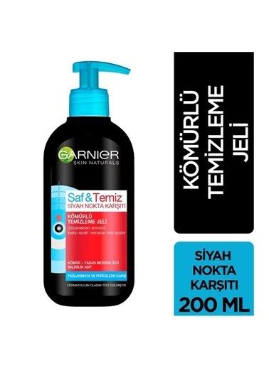 Garnier Garnier Saf & Temiz Siyah Nokta KarşıtıKömürlü 200 ml Temizleme Jeli Renksiz